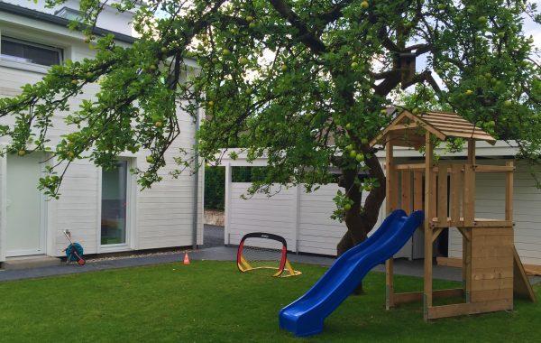 Gartenbau Einfamilienhaus